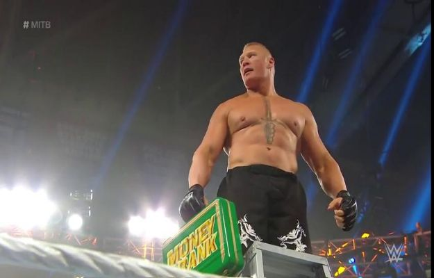 Brock Lesnar WWE Money in The Bank 2019