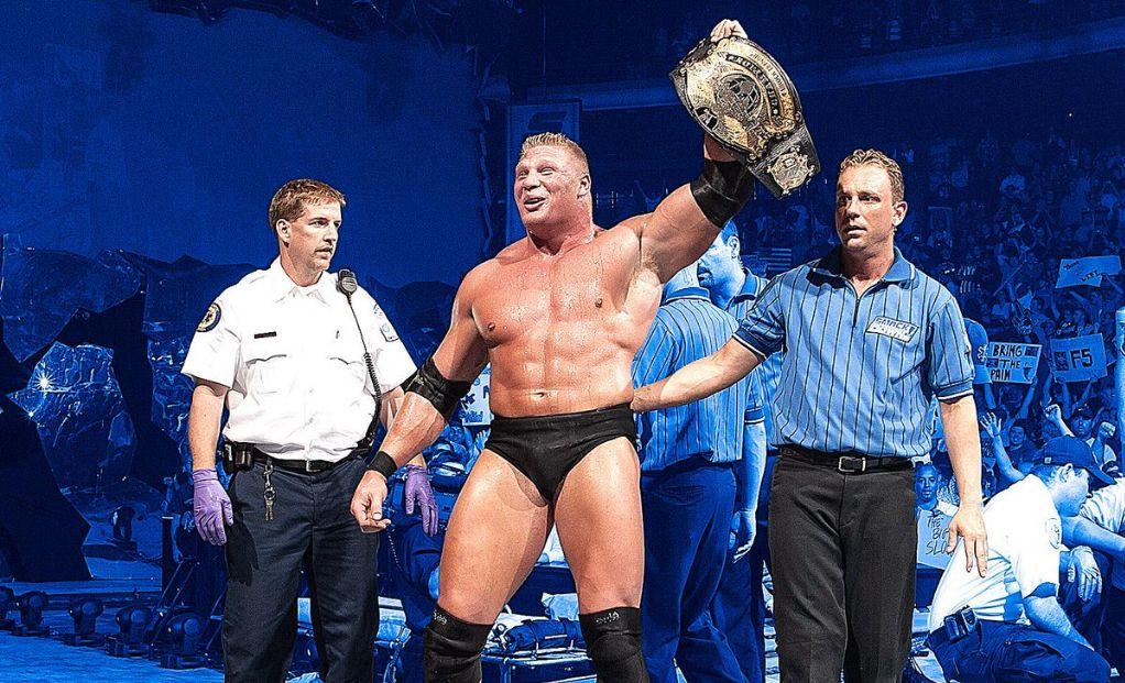Brock Lesnar Smackdown