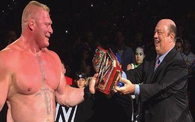 Brock Lesnar ayer en el show de Tampa