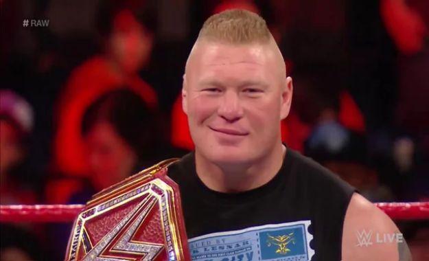 Brock Lesnar confirmado para el gran evento SummerSlam 2018