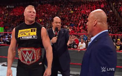 Brock Lesnar podría ser despedido de WWE