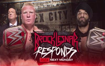 Brock Lesnar vs Jinder Mahal en Survivor Series