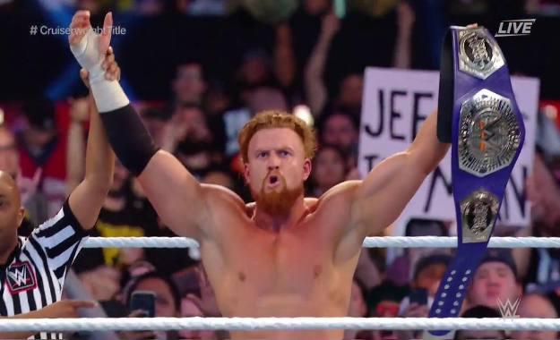 Buddy Murphy retiene el campeonato crucero en Royal Rumble