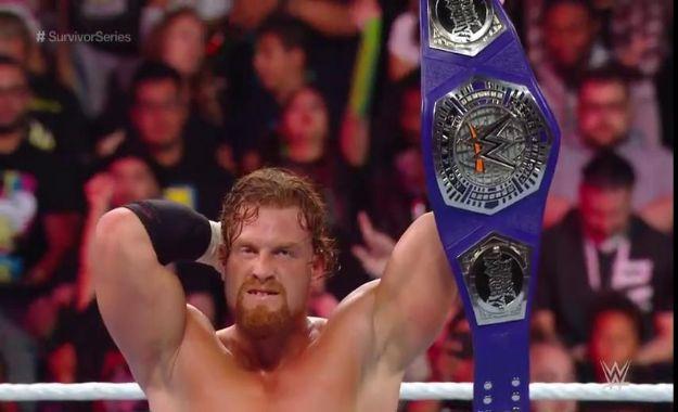 Buddy Murphy retiene el campeonato crucero en Survivor Series