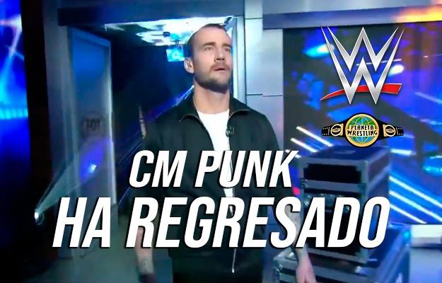 Todos los detalles del regreso de CM Punk a Fox — WWE