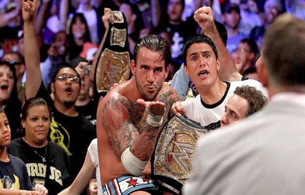 CM Punk vs. John Cena