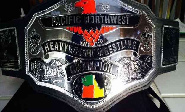 Campeonato latino de WWE modelo NWA