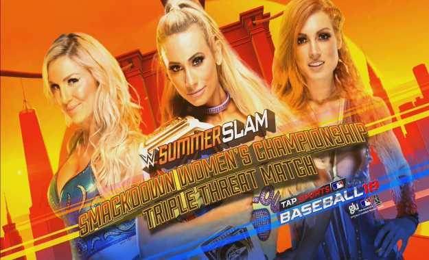 Carmella defenderá el Smackdown Women's Championship en Summerslam ante Becky Lynch y Charlotte Flair