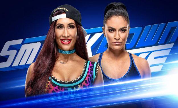 Carmella vs Sonya deville