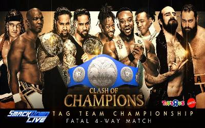 Cartelera Clash of Champions 2017