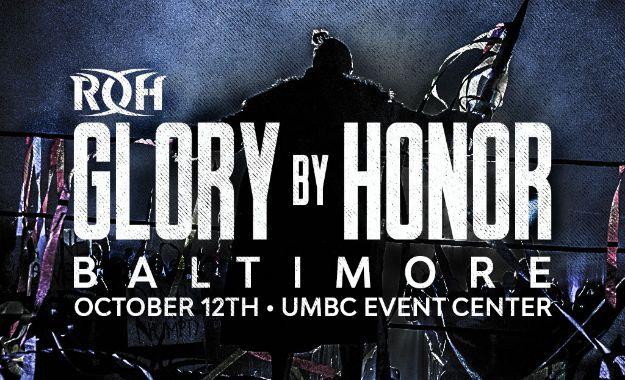Cartelera ROH Glory By Honor