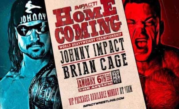 Cartelera actualizada de Impact Homecoming del 6 de enero