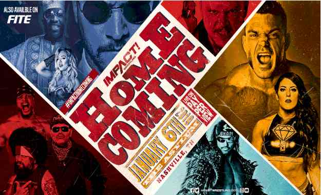 Cartelera actualizada de Impact Wrestling Homecoming