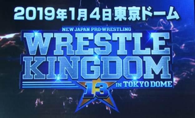 Cartelera momentánea de Wrestle Kingdom 13