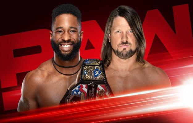 Cedric Alexander vs AJ Styles este lunes en WWE RAW