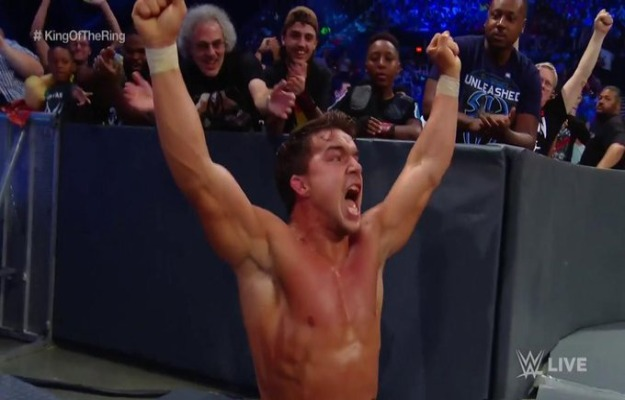 Chad Gable avanza a las semifinales del torneo King of the Ring