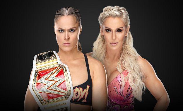Charlotte vs Ronda Wrestlemania