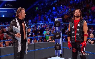 Chris Jericho regresó por sorpresa a la marca azul de WWE