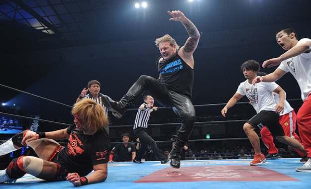 Chris Jericho y Tetsuya Naito tienen un brawl en la conferencia de prensa de Wrestle Kingdom 13