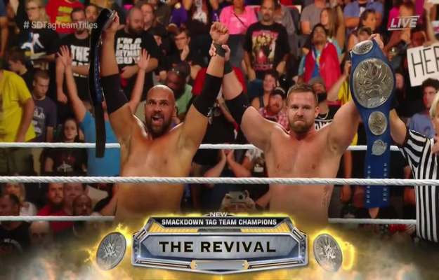 Clash of Champions 2019 The Revival