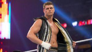 Cody Rhodes en WWE