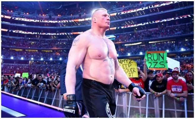 Combate de Brock Lesnar en Wrestlemania