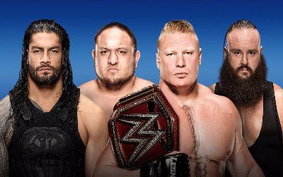 Protagonistas del combate por el título Universal en SummerSlam