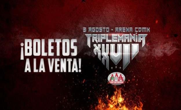 Como ver AAA Triplemania XXVII en vivo y gratis - Horarios de Triplemania 27