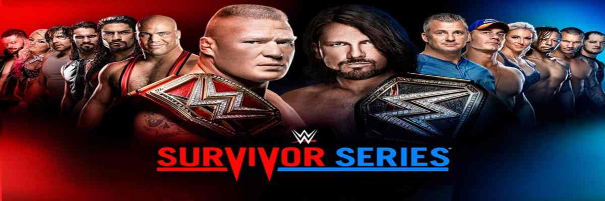 Como ver WWE Survivor Series 2017 en vivo