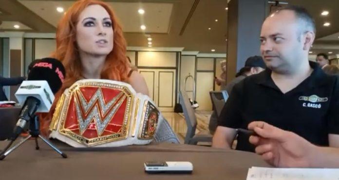 entrevista a Becky Lynch en WWE SummerSlam