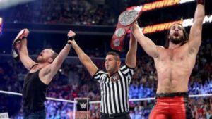 WWE noticias Ambrose Rollins