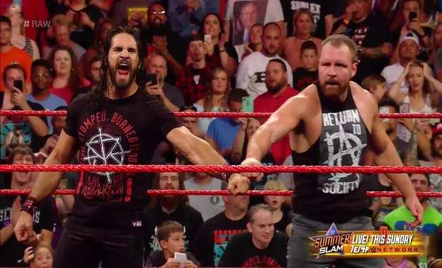 Dean Ambrose hace su regreso en WWE RAW