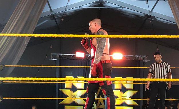 Debut NXT Sam Shaw