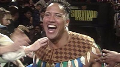 The Rock habla sobre su debut en Survivor Series