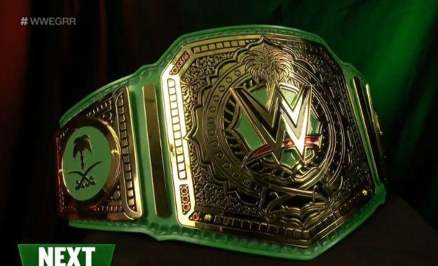 Detalles acerca del campeonato del Greatest Royal Rumble