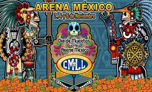 Día de Muertos en la Arena México