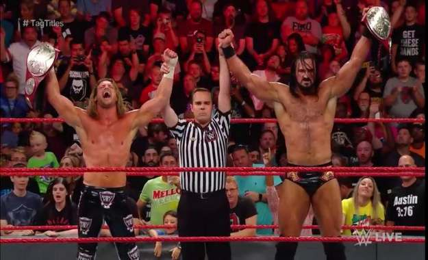 ¿Podrían Dolph Ziggler y Drew McIntyre perder sus campeonatos en RAW?