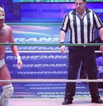 Dragon Lee CMLL - Luchadores mexicanos