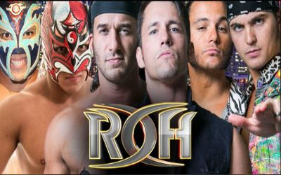 Dragon Lee y Titan en ROH