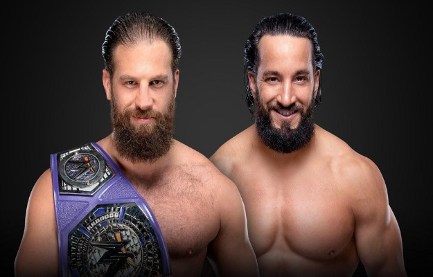 Drew Gulak vs Tony Nese por el título crucero en WWE Extreme Rules 2019
