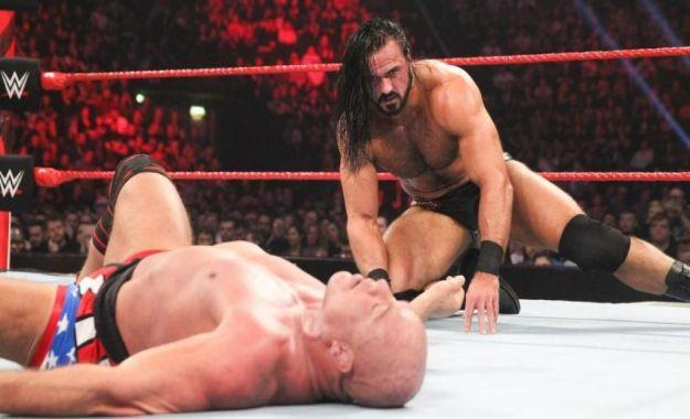 Drew McIntyre vs Kurt Angle
