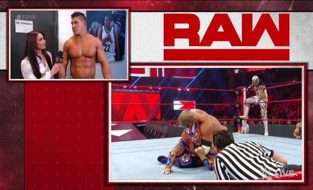 EC3 hace una aparición en WWE RAW