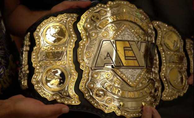 El campeonato mundial de All Elite Wrestling es recuperado