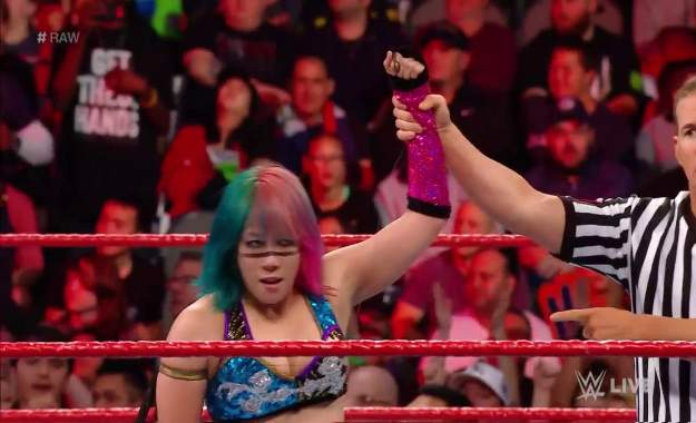 El récord de Asuka sigue creciendo en WWE RAW