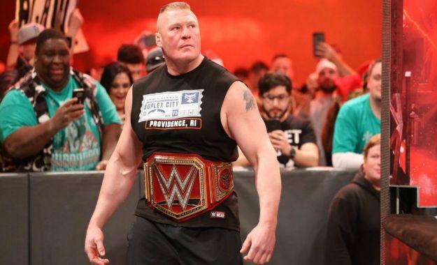 planes para la storyline de Brock Lesnar