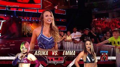 WWE noticias Emma TLC