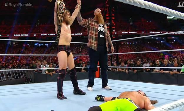 Erick Rowan y Daniel Bryan Royal Rumble 2019