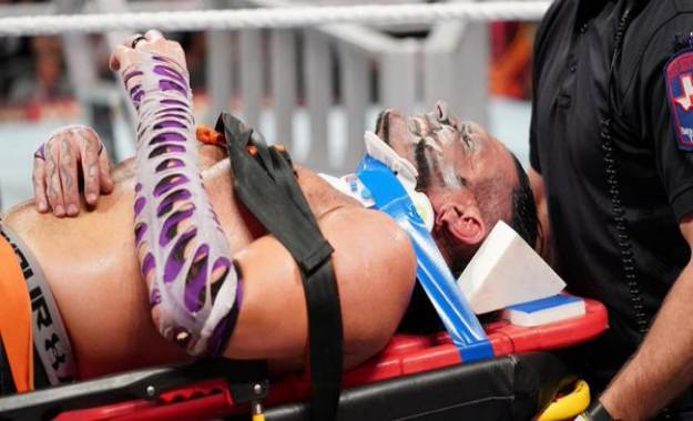 Estado de Jeff Hardy tras Hell in a Cell