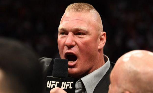 Ex campeón de la UFC acusa al luchador Brock Lesnar de dopaje