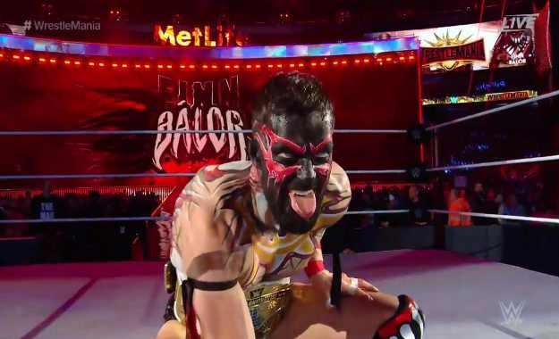 Finn Balor WWE WrestleMania 35